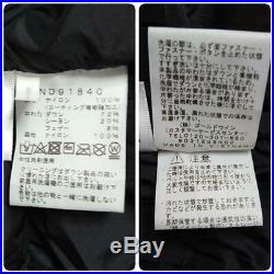 18AW THE NORTH FACE Bartolo Clair Veste Noir XXS Super Rare De Japon