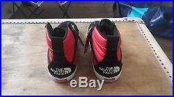 Baskets VANS HITOP x THE NORTH FACE / ROUGE ET NOIRE / POINTURE 42