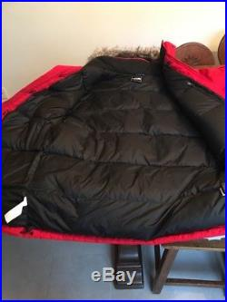 Doudoune MCMURDO PARKA THE NORTH FACE RED SIZE X SMALL DEADSTOCK