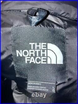 Doudoune the north face nuptse 700 taille L black/blue- neuf avec étiquette