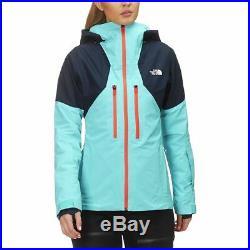 Femmes North Face Bleu Poudre Guide Gore-Tex Veste Ski M NEUF