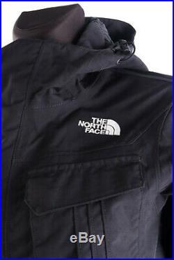 Femmes The North Face Noir Coque Hyvent à Capuche Multipoche Veste Taille M