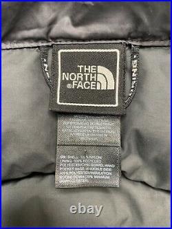 Femmes XS The North Face Gris Foncé Hooden Bas Parka 600 Remplissage