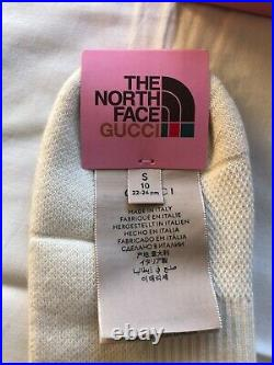 Gucci X The North Face Logo Beige Socks, Size S