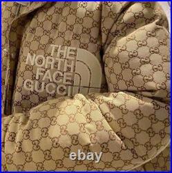 Gucci x The North Face Blouson en toile Taille M