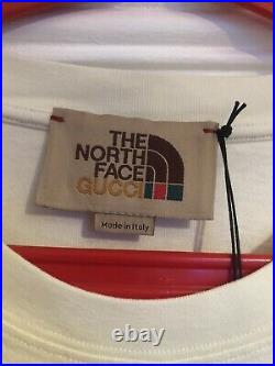 Gucci x The North Face Logo Tee shirt, Size L