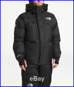 Homme North Face Noir Himalayen 800 Bas Veste Parka Neuf