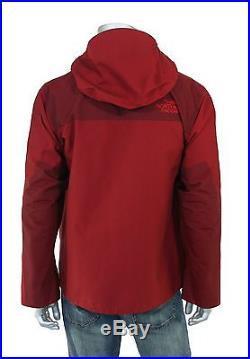 Homme North Face Rouge Heather Série Du Siècle Fusible Veste de Montagne M NEUF