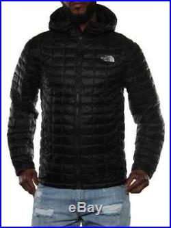 NORTH FACE M THERMOBALL HOODIE BLACK CMG9JK3 Winter Jacket Men