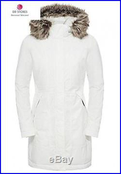 North Face Arctic Parka Femme, Blanc, FR XL Taille Fabricant
