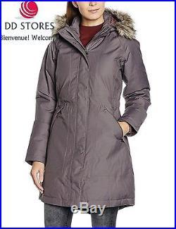 North Face Arctic Parka Femme, Gris, FR L Taille Fabricant