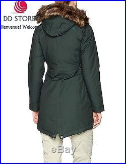 North Face Arctic Parka Femme, Vert, FR L Taille Fabricant