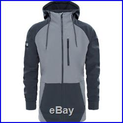 North Face Longtrack Hommes Veste Soft Shell Zinc Grey Asphalt Toutes Tailles