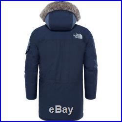 North Face Mcmurdo Parka 2 Hommes Veste Doudoune Urban Navy Toutes Tailles