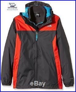 North Face Stormy Rain Veste Garçon Asphalt Grey FR L Taille Fabricant