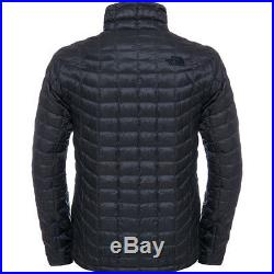 North Face Thermoball Full Zip Mens Jacket Synthetic Fill Asphalt Grey Fusebox
