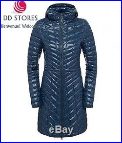 North Face Thermoball Parka Femme, Bleu Marine, FR M Taille Fabricant