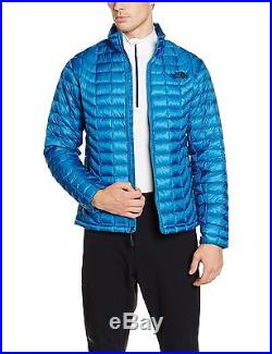 North Face Thermoball Veste Zippée Homme, Bleu/Banff Blue, FR L Taille