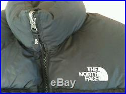 North Face down jacket 700 fill size M