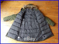 Parka Manteau Doudoune The North Face Arctic Taille L 42/44 Neuf Femme Vert Kaki