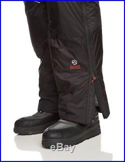 Pour Homme North Face Noir Himalaya 800 en Bas Ski Neige PANTALON M Nouveau