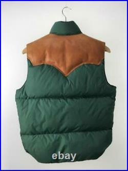 Rocky Mountain Lit de Plume 38 Nylon Pistolet Uni Étiquette Taille 38 Gilet 1241