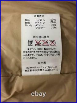Rocky Mountain Lit de Plume 40 Nylon Beg Étiquette Taille 40 Beige Gilet 1317