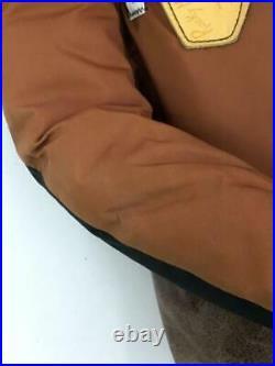 Rocky Mountain Lit de Plume Tête Cuir Interrupteur 36 Nylon Tag Taille 36 Gilet