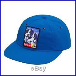 SUPREME The North Face MOUNTAIN 6 PANEL HAT ROYAL