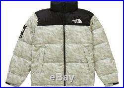 SUPREME x THE NORTH FACE EXTRA LARGE PAPER NUPTSE JACKET XL FW19