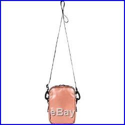 SUPREME x THE NORTH FACE METALLIC SMALL SHOULDER BAG ROSE GOLD SAC SS18 NEW RARE