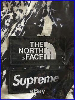 SUPREME x THE NORTH FACE MOUNTAGNE BAG TNF NEUF +FACTURE