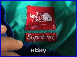 SUPREME x THE NORTH FACE TRANS antarctica PANT RED TNF SIZE L NEUF +FACTURE