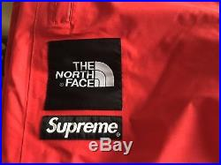 SUPREME x THE NORTH FACE TRANS antarctica PANT RED TNF SIZE M NEUF +FACTURE