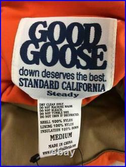 Standard Californie Réversible Bas 100 M Nylon Étiquette Taille M Gilet Japon
