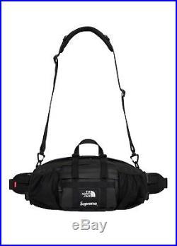 Supreme/The North Face Black Leather Waist Bag Order Confirmed