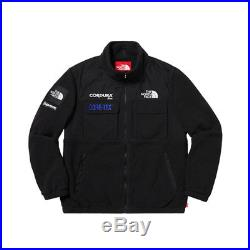 Supreme The North Face Expedition Fleece Jacket Black Medium Tnf Fw18 Dswt