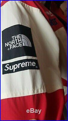 Supreme The North Face Expedition Jacket M White Box Logo GORE-TEX Cordura RARE