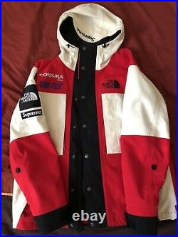Supreme The North Face Expedition Jacket Size M Red Box Logo Nike Off White