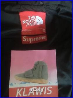 Supreme The North Face FW15 BAMN Noir