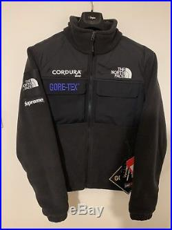 Supreme The North Face Fleece BLACK Size M Expedition Gore Tex Jacket In Hand