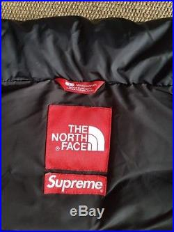 Supreme The North Face Leopard Nuptse Jacket Green 2011 LARGE USED