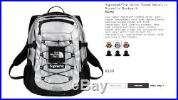 4c1ecceb225 Supreme The North Face Metallic Borealis Backpack Silver Confirmed ...