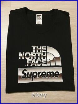 Supreme The North Face Metallic Logo T-Shirt size XL