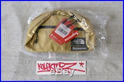 Supreme The North Face Metallic Roo II Lumbar Pack Bag Gold Sac Ss18 New Rare