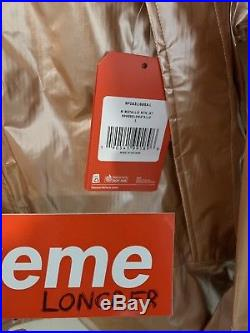 Supreme The North Face Metallic Rose Gold Parka Size L DSWT 100% Authentic