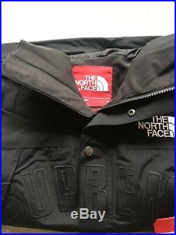 Supreme The North Face Mountain Arc Parka Jacket SS19 Black Large IN HAND