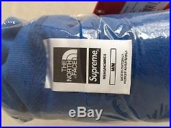 Supreme The North Face Mountain Crewneck Sweatshirt Blue/Capuche Bleue Size M