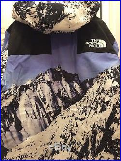 Supreme The North Face Mountain Parka Size M Edition limited in hand FW17 Paris