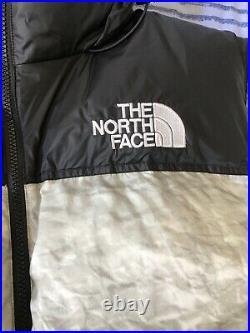 Supreme The North Face Nuptse Jacket Paper Print M Box Logo Nike Off White Dunk